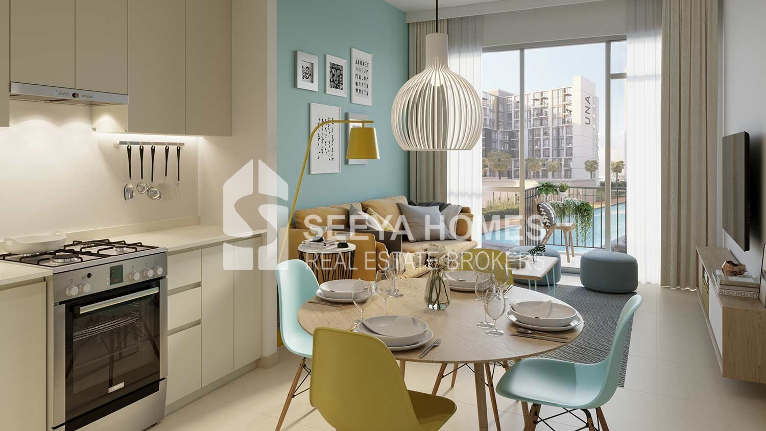 Luxury Apartment | 50% Handover | Studio & 1Bedroom