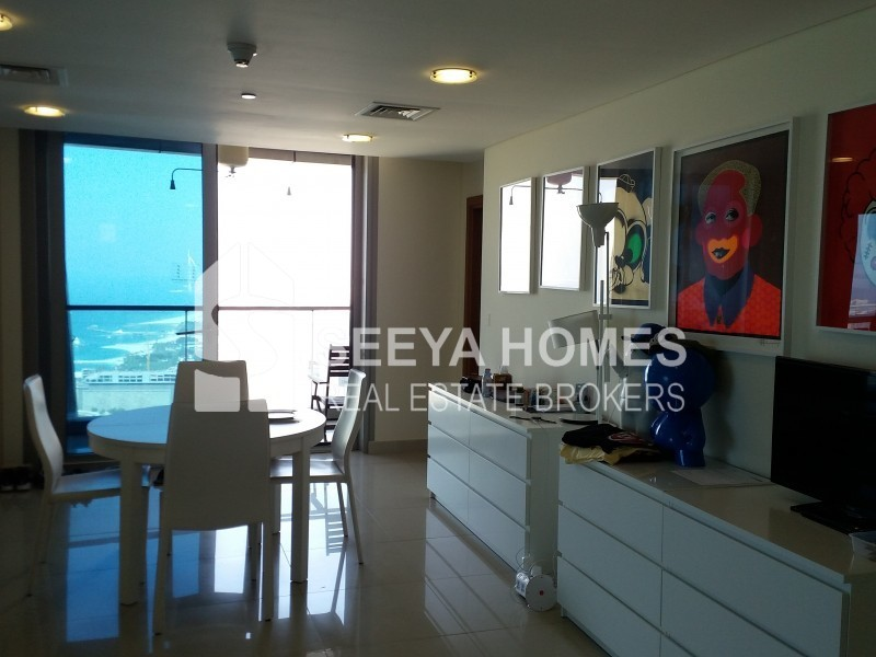 Beautiful Sea & Palm View | 3 BR + Maid Apartment for Rent