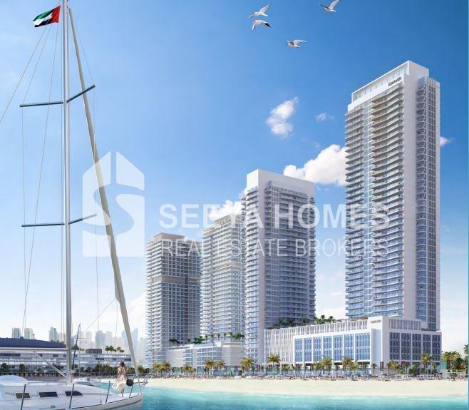 Emaar | Marina Vista | Luxurious 2 BR Apt