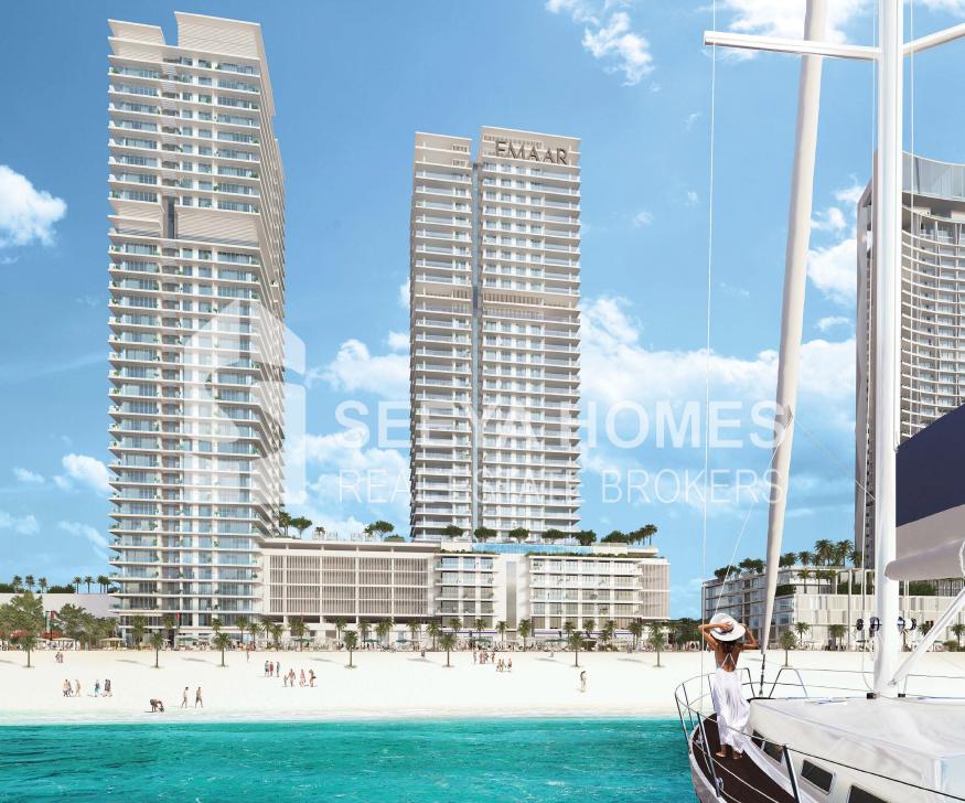 Emaar | Beach Vista | Luxurious 2 BR Apt