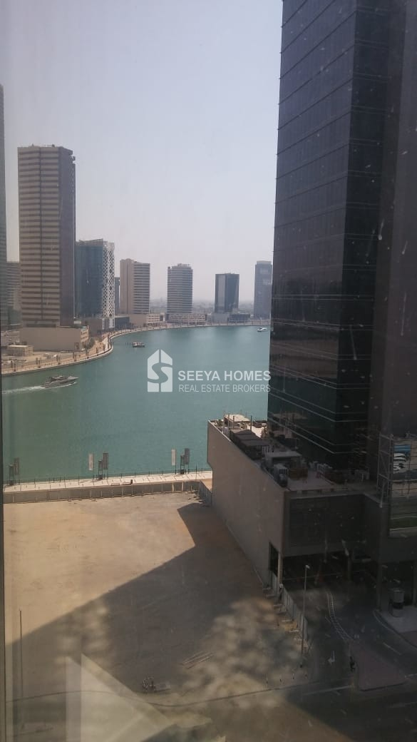 Burj Khalifa & Sea View | Shell & Core Office Space for Rent