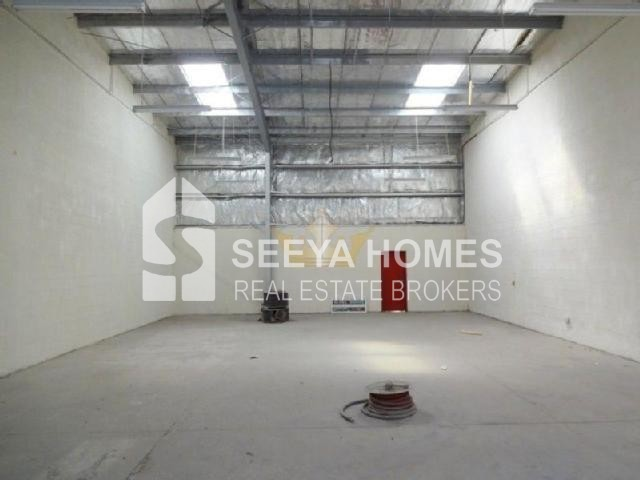 Tax Free Warehouse With Fitted Office in Al Qusais