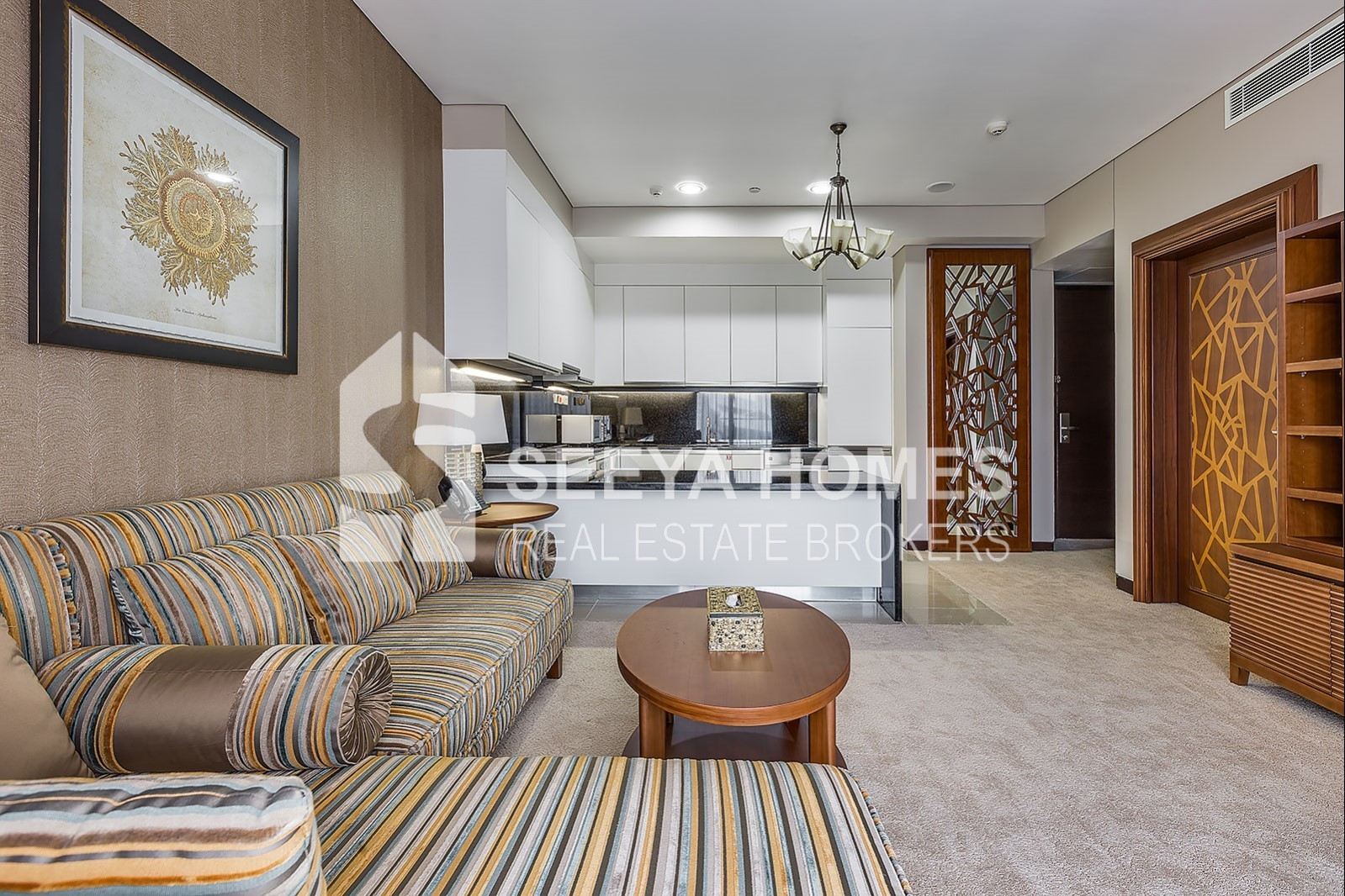 Fully Furnished | 1 BR Apt | Marina View