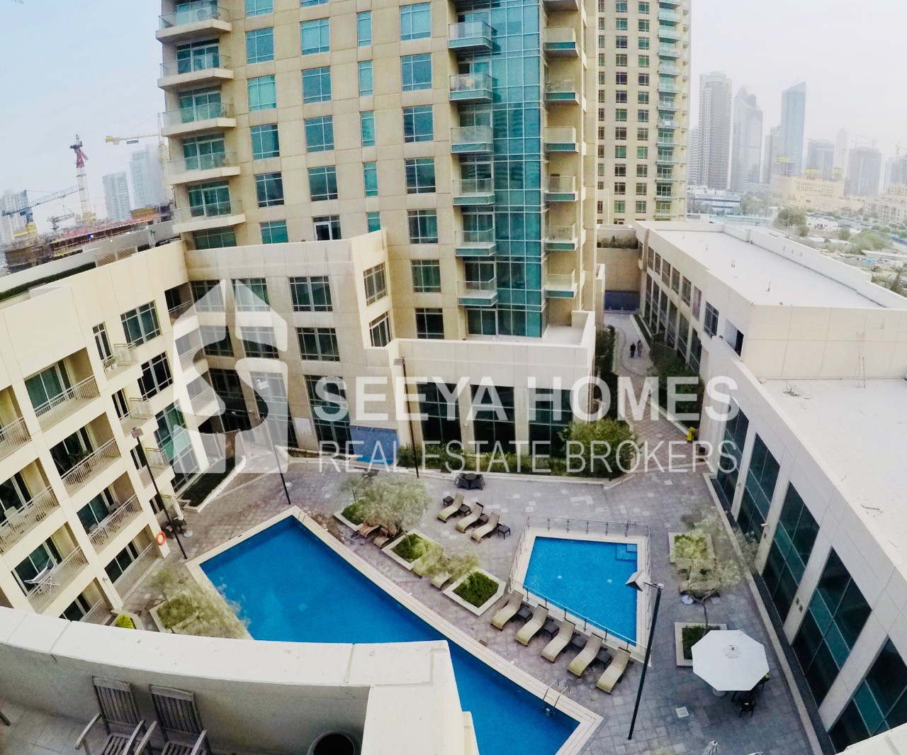 Amazing Burj View 2 BR Apartment for Rent