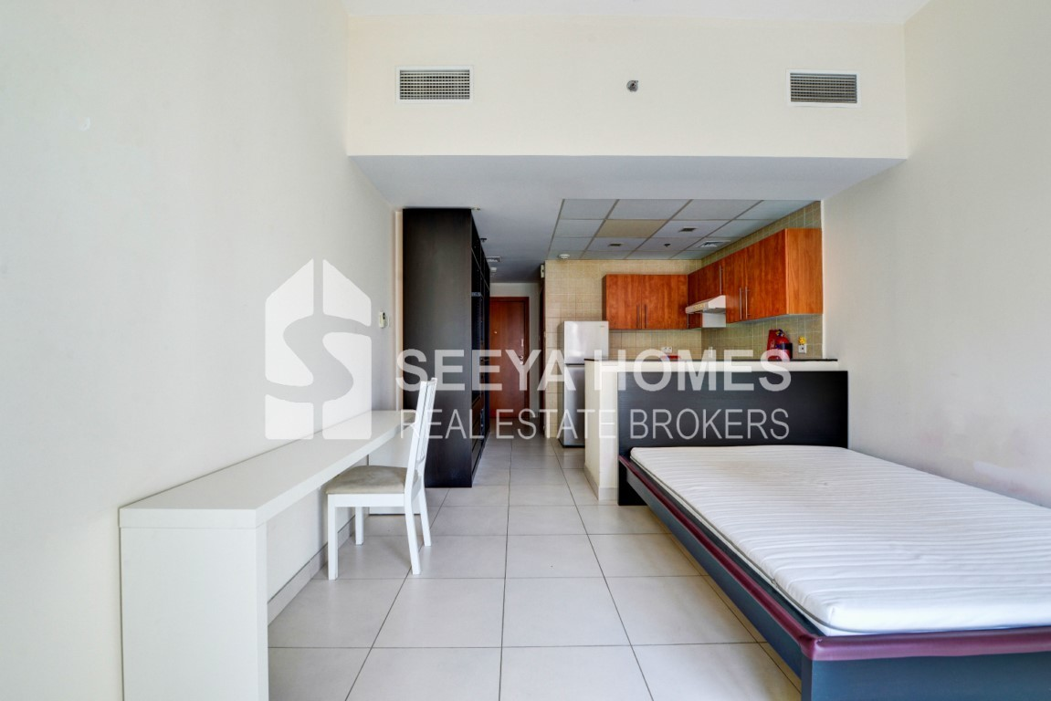 Semi Furnished | Studio Apartment | Dubai Marina