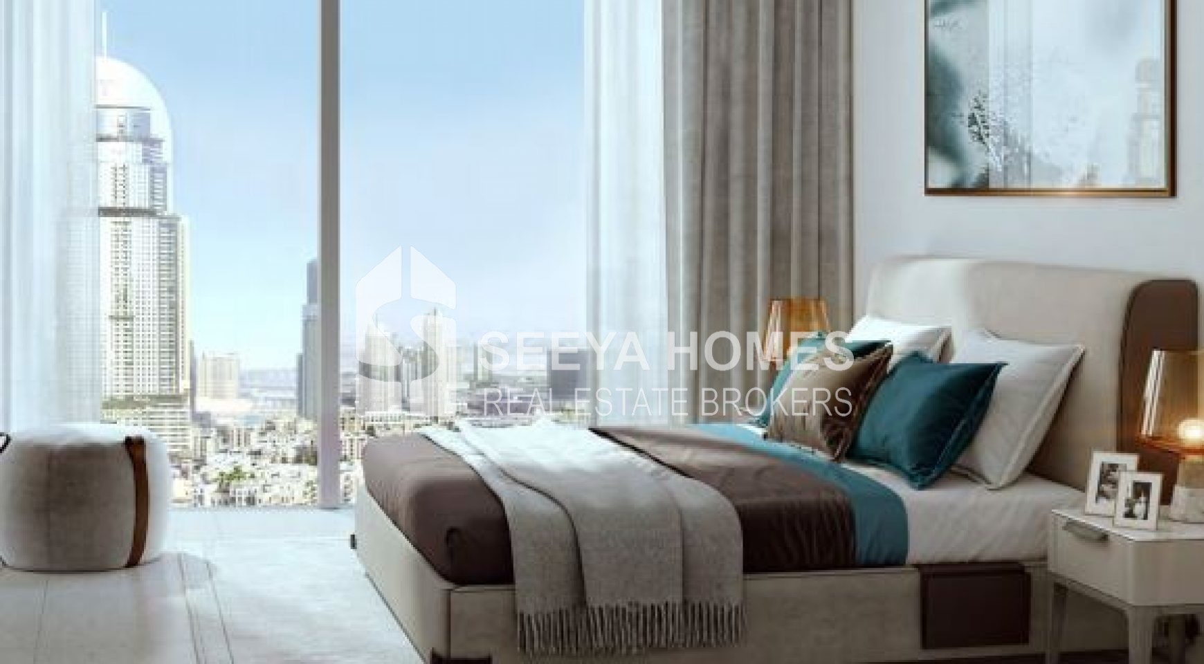 Luxurious 2 Bedroom Apartment in Downtown