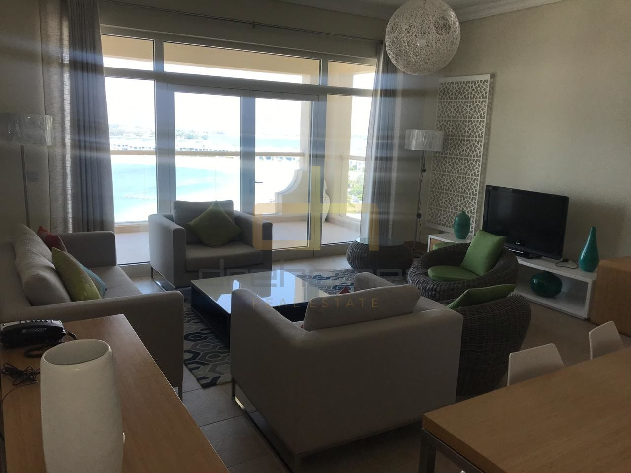 Furnished | Chiller Free | 2 Bed on Palm