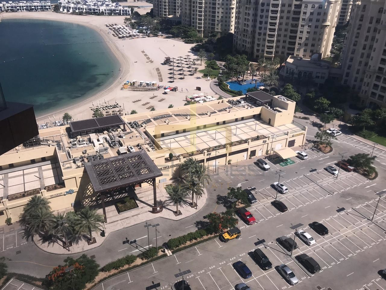 One Bed Apt | City View and Beach Access