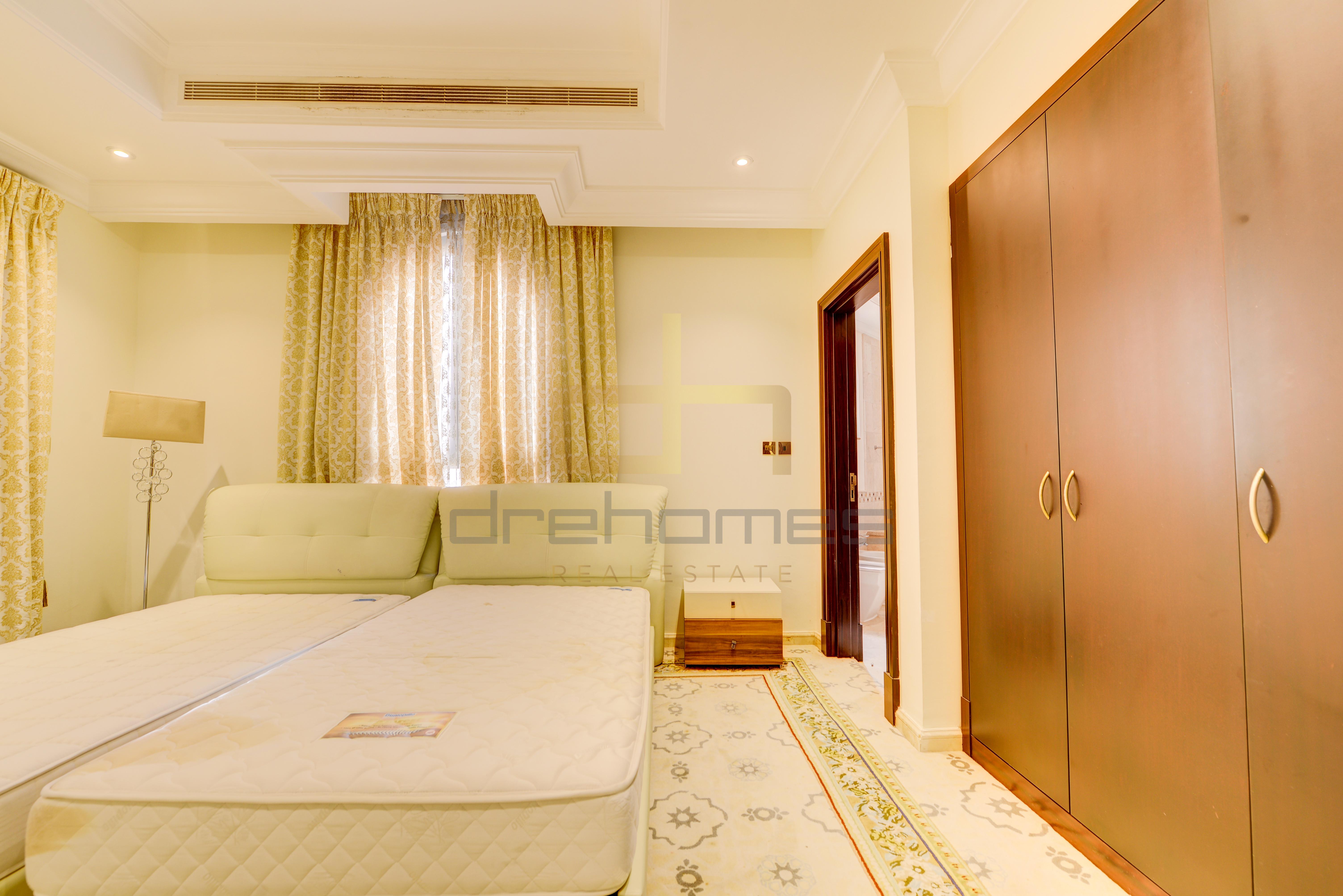 Semi Furnished   Five Bed + Maid's Villa