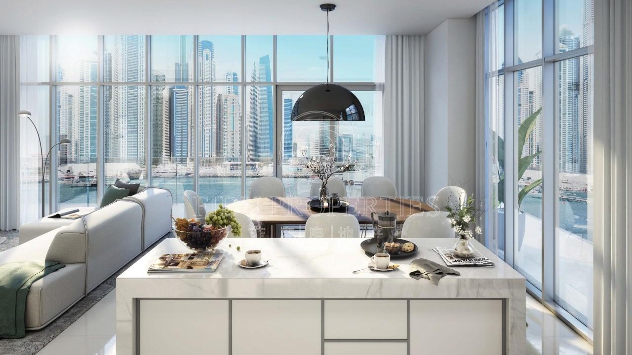 Sea & Marina View | Luxury | B...
