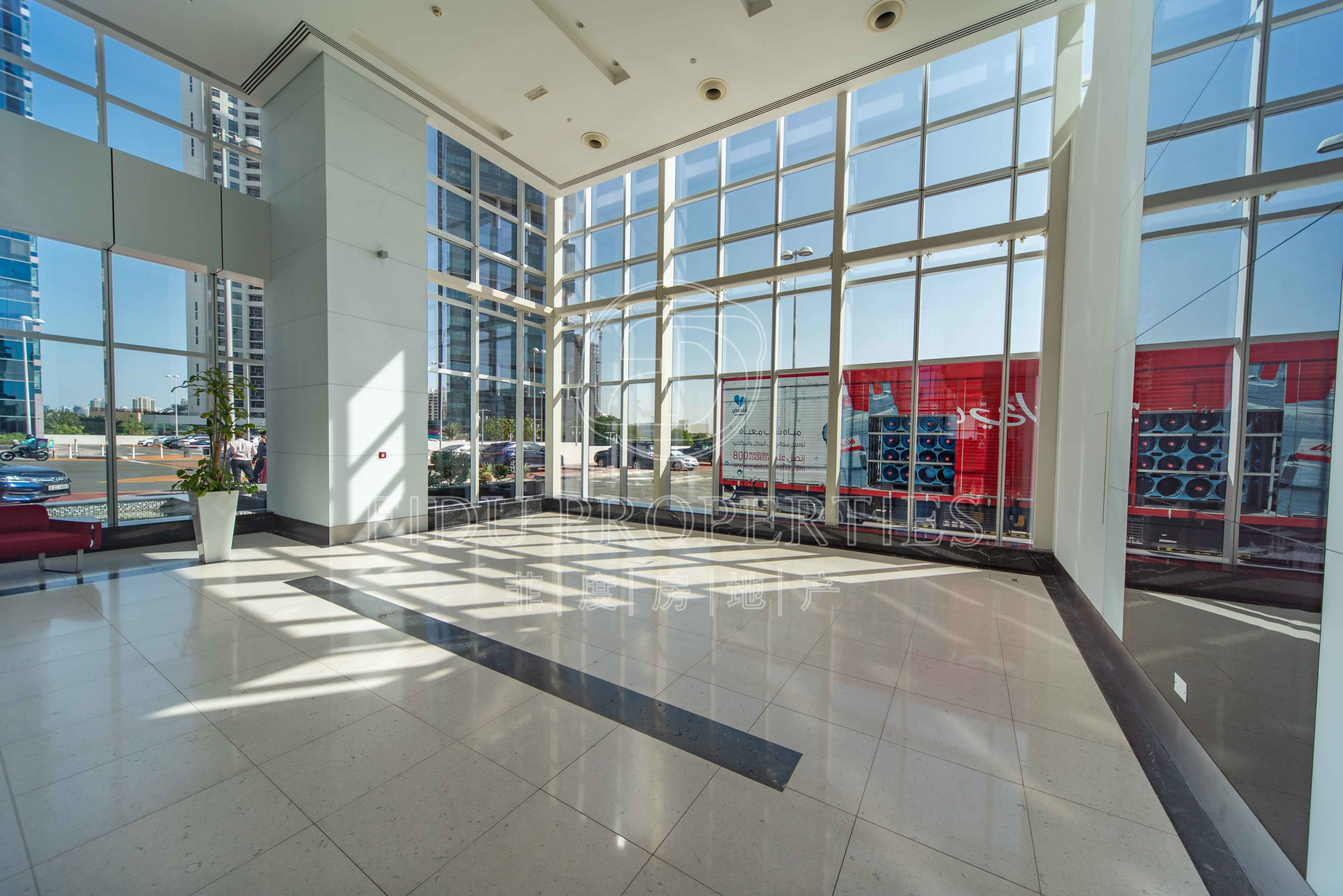 Open lobby space. | Convertibl...