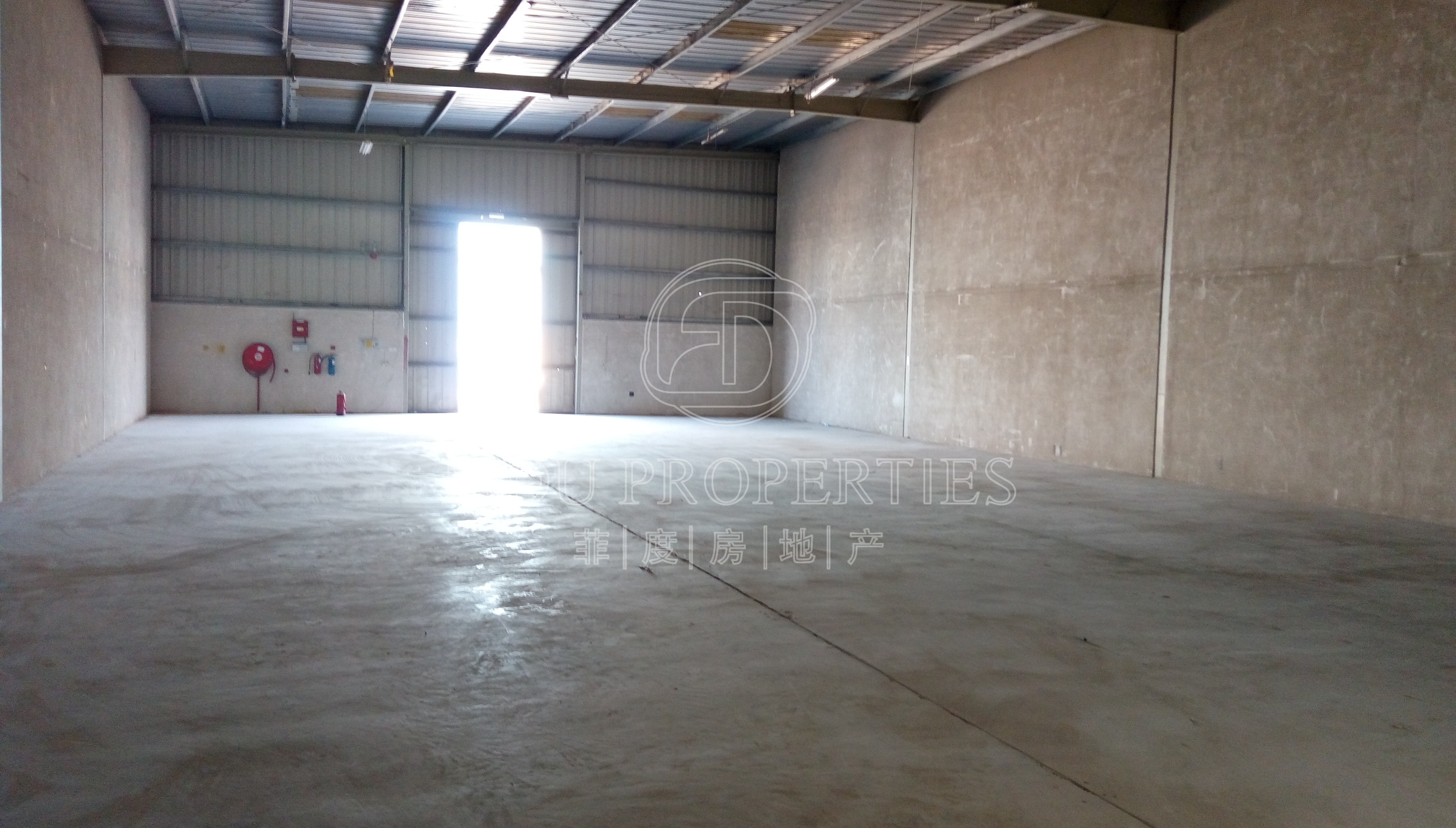 Insulated Commercial warehouse...