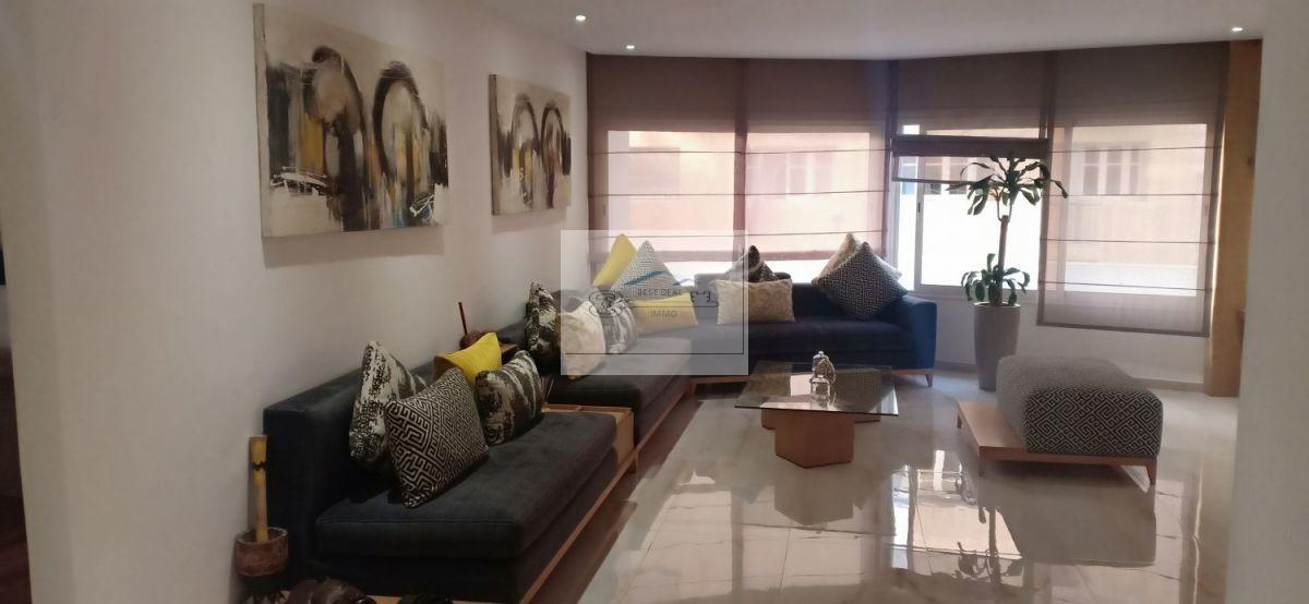 Appartement à louer Casablanca Triangle d'Or