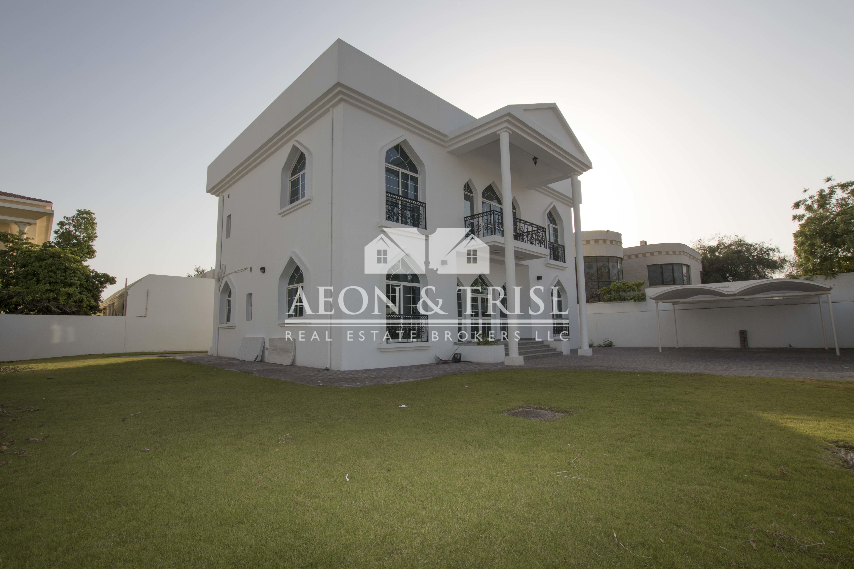 Huge plot! Perfect Location 4 bedroom in Al Safa
