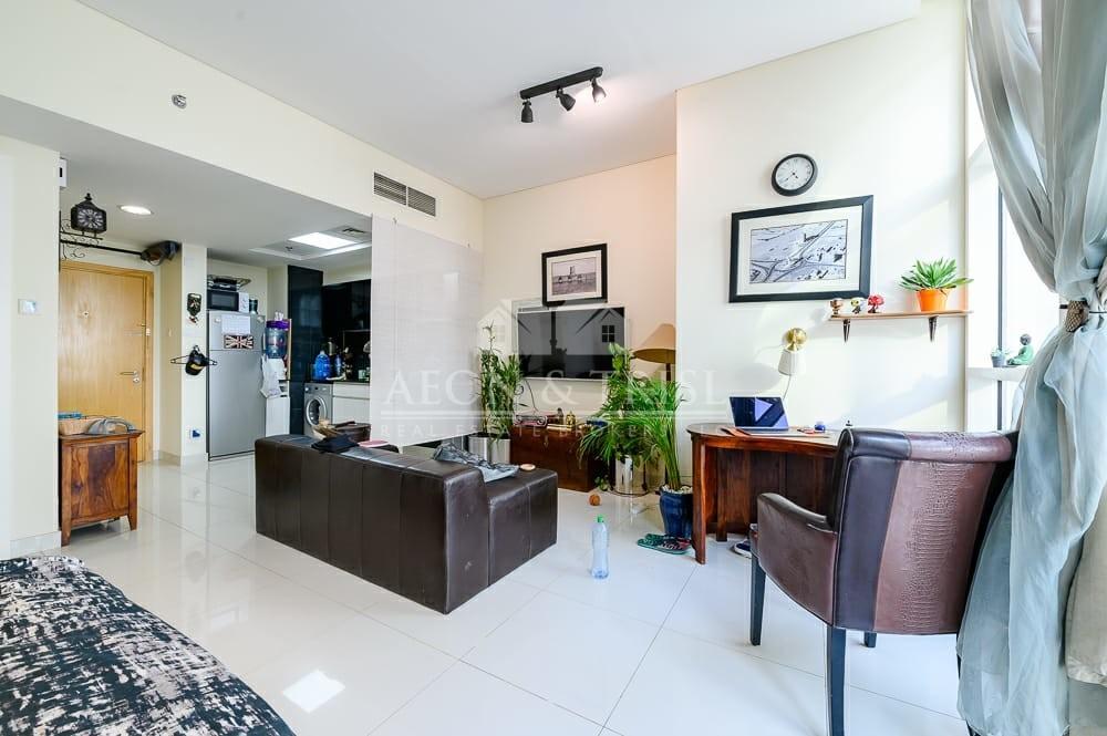 Studio with huge terrace | Lowest rental rate