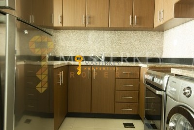 Spacious Semiclosed Kitchen with appliance