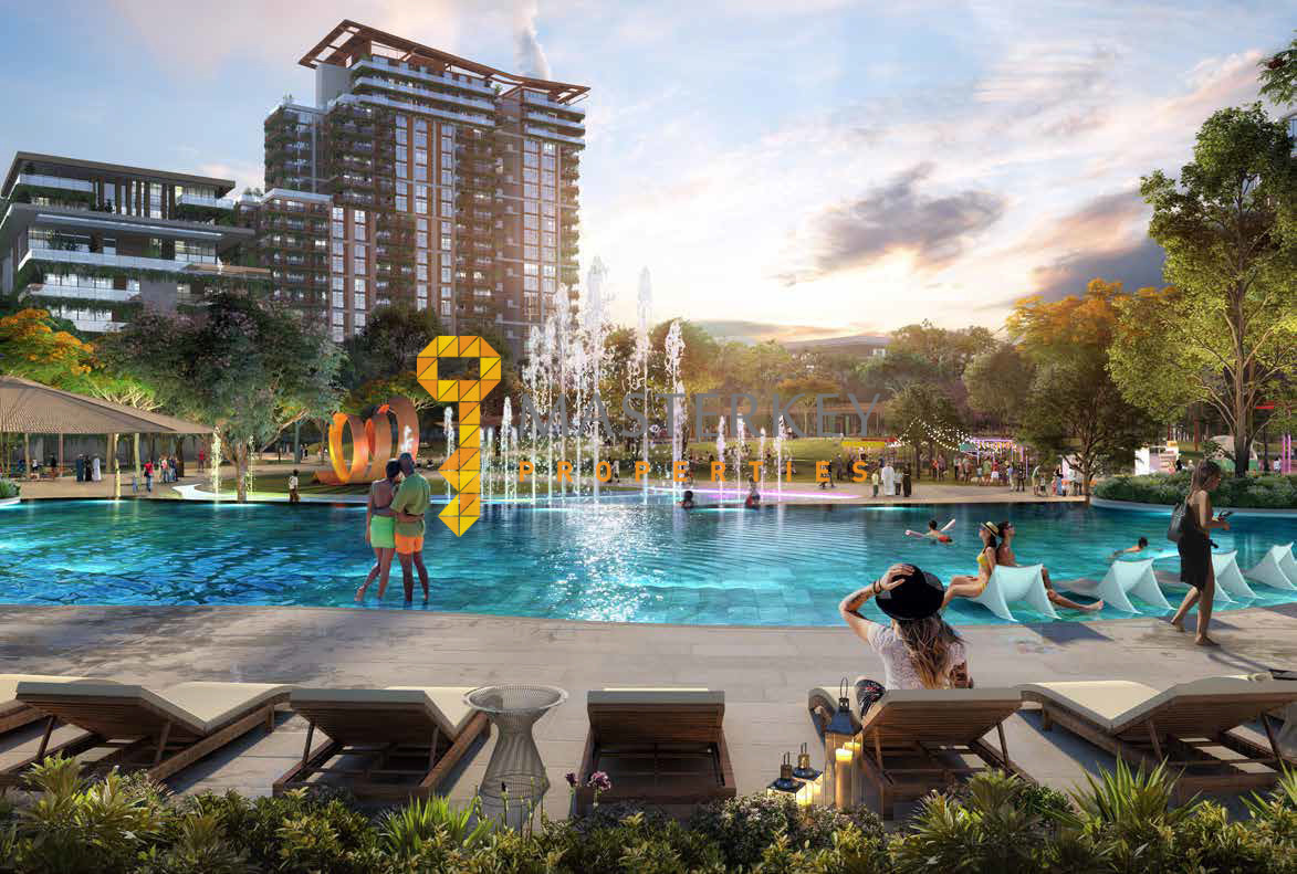 Central park in City Walk| Only 5% down payment