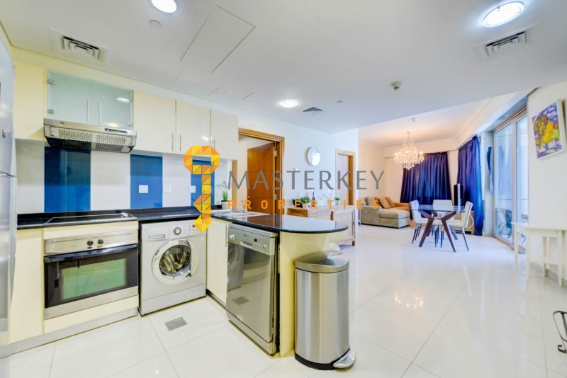 Nicely furnished Apartment| Full Sea view