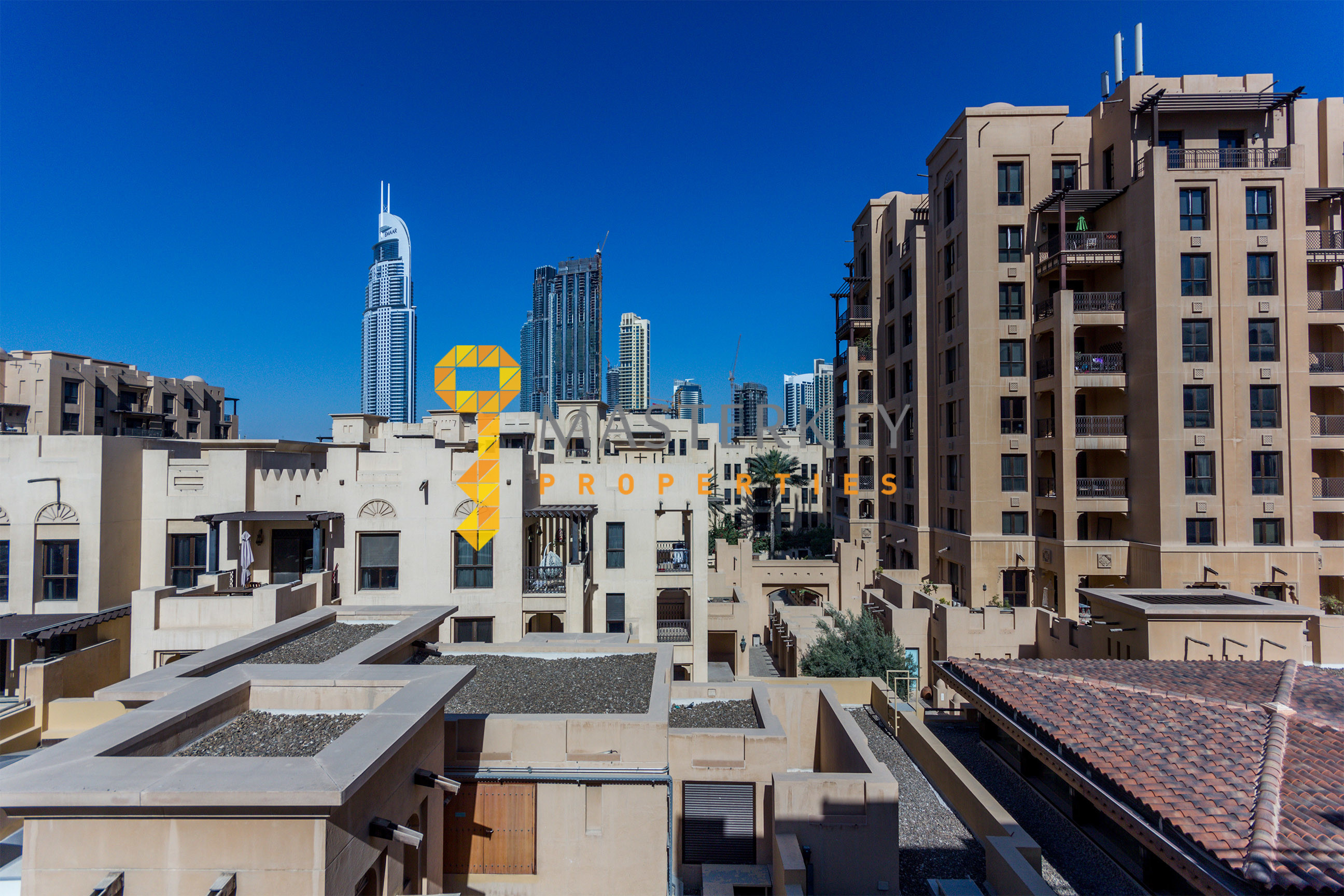 Furnished 2Br in Old Town with Burj Khalifa View