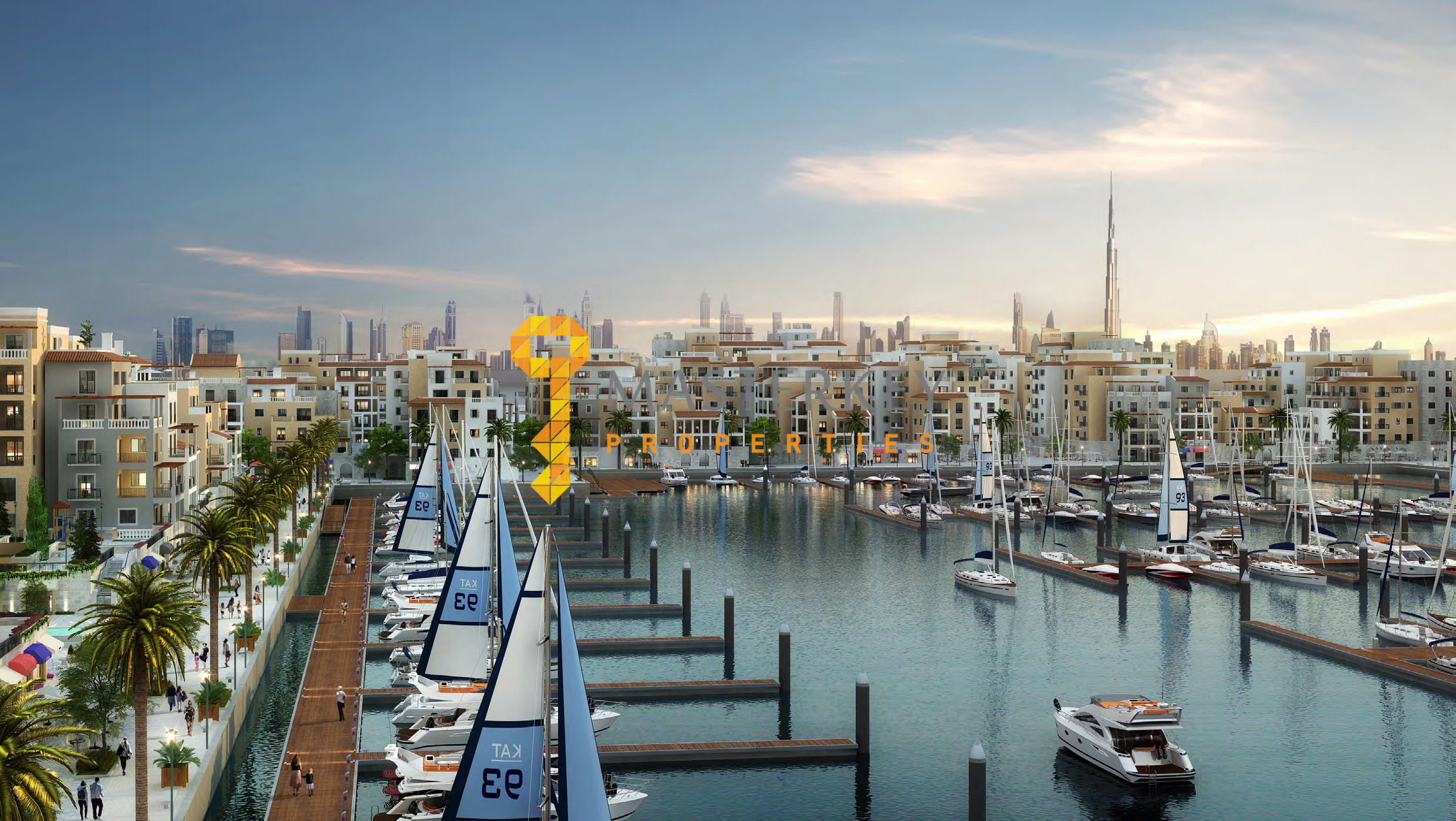 Best Beachfront  Living Community in Dubai