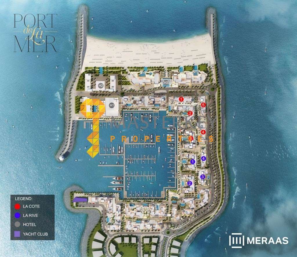 Beach-front living in the Heart of Dubai