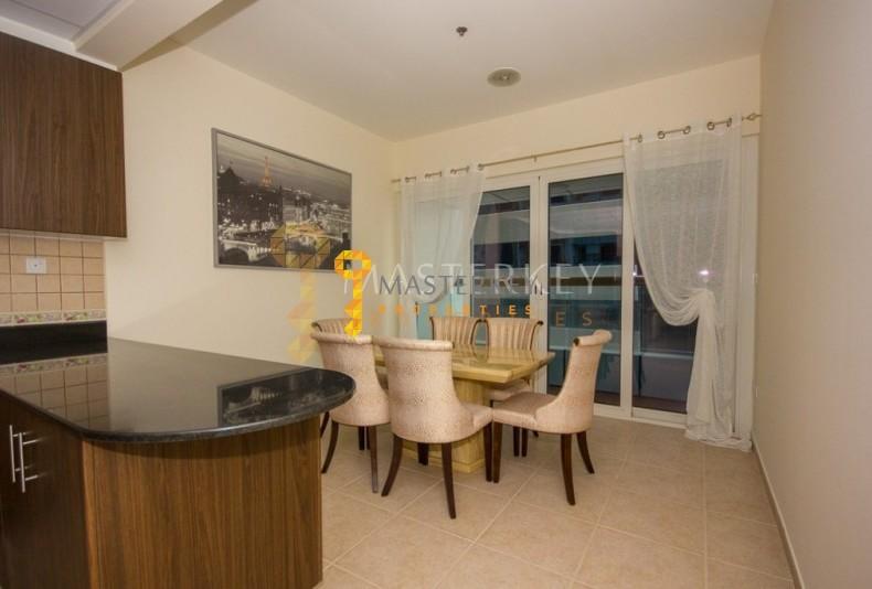 Scenic view Furnished Apt in Dubai Marina
