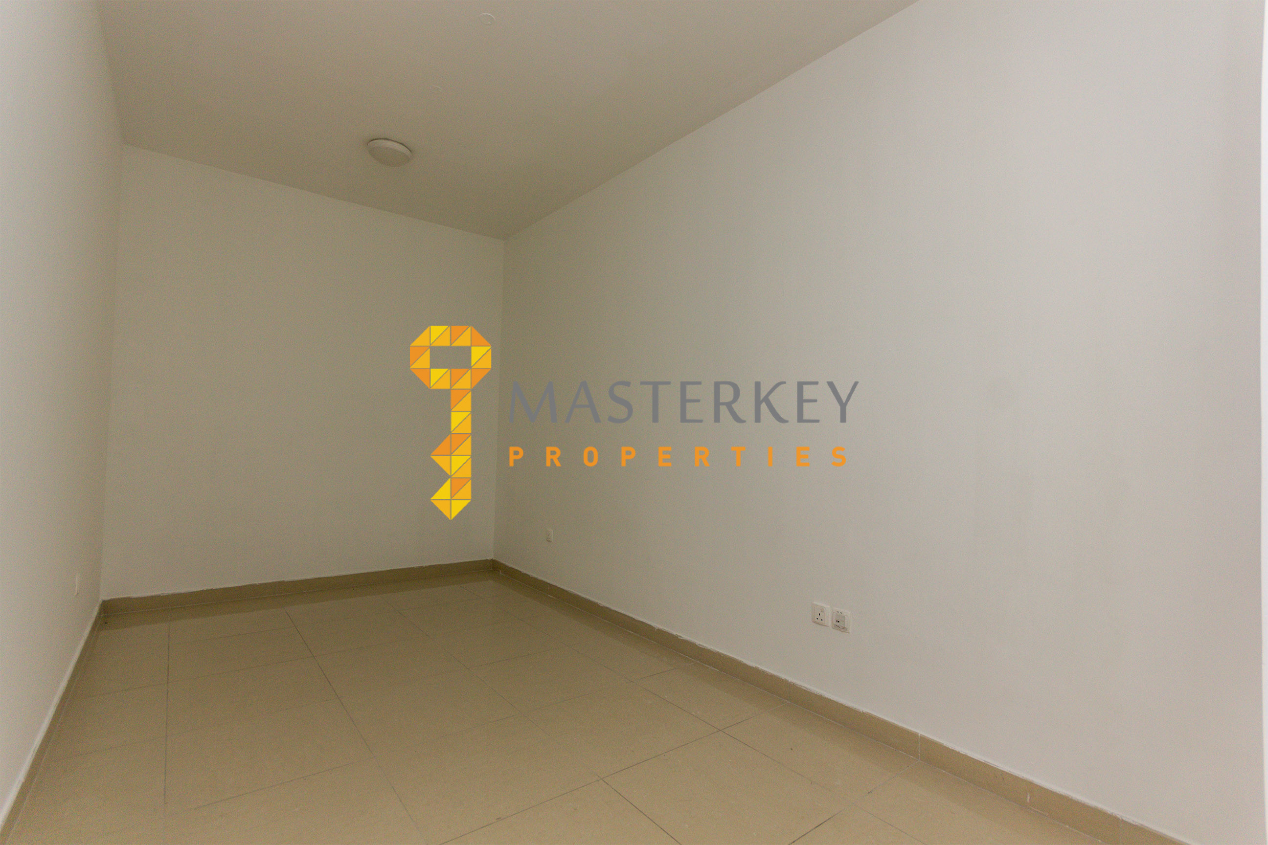 Semi furnished apartment with Study room
