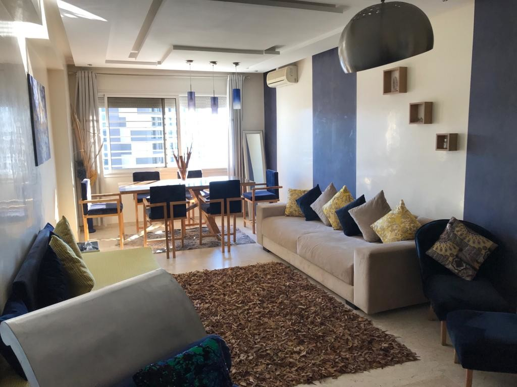 Location <strong>Appartement</strong> Rabat Hay Riad <strong>135 m2</strong>