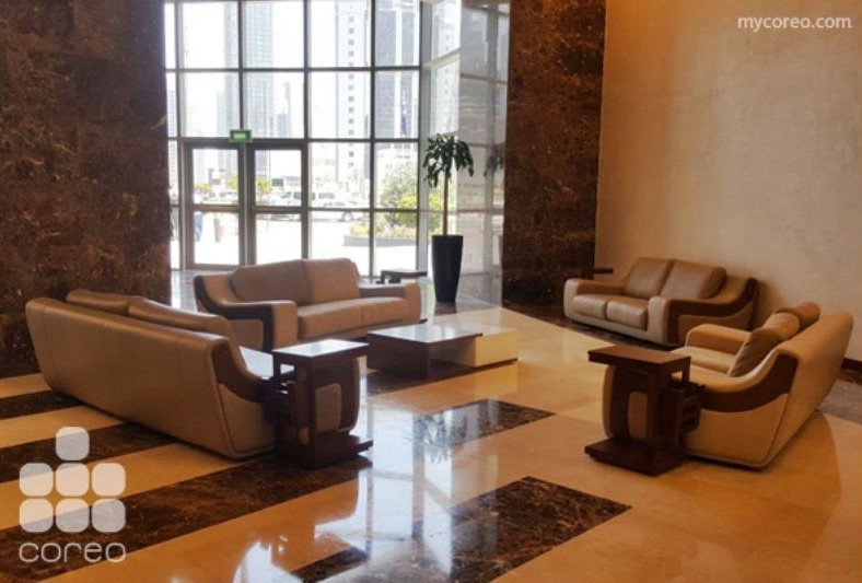 RENT: Furnished Office Space for Rent in Palm Tower in Palm Towers ...