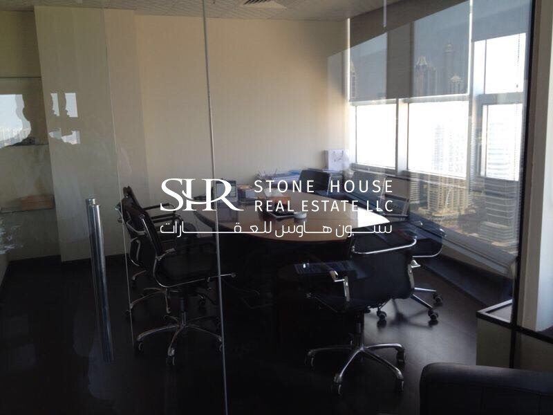 Fitted | Furnished Office in Free Zone Area