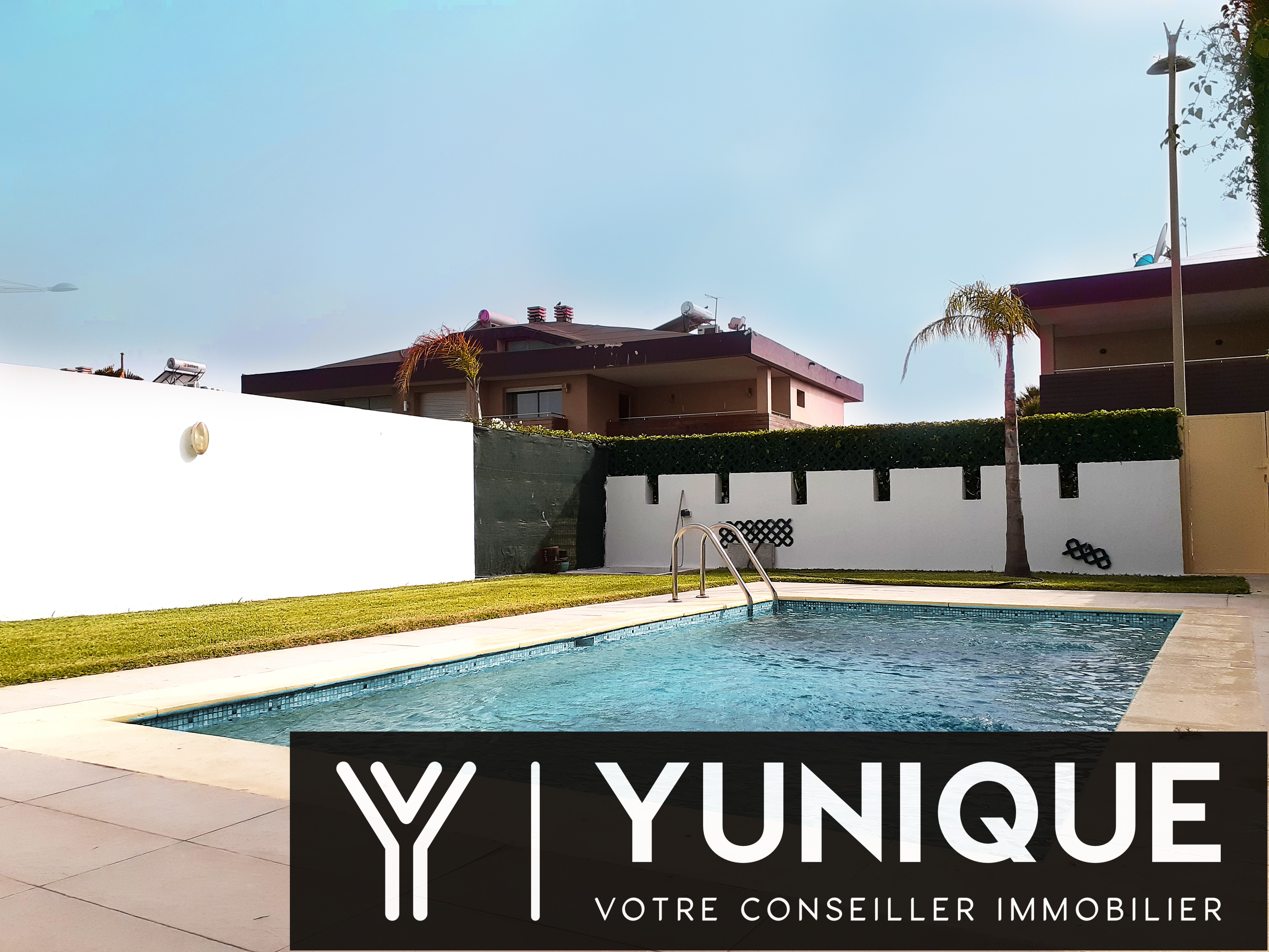 Villa à louer Bouskoura