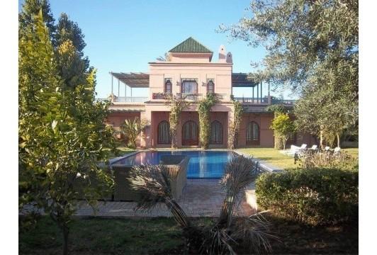 Villa à louer Marrakech Palmeraie