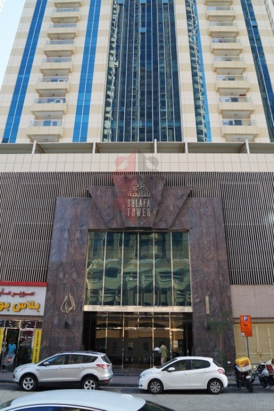 Reduced Price 68K|Partially Furnished|Sulafa Tower
