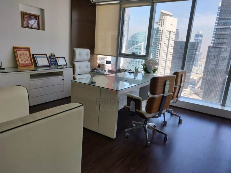 Fitted Office|The Citadel Tower|Business Bay