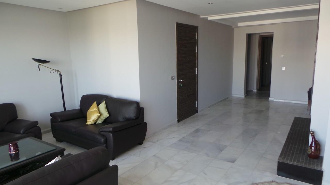 Location <strong>Appartement</strong> Bouskoura Casa Green Town <strong>132 m2</strong>