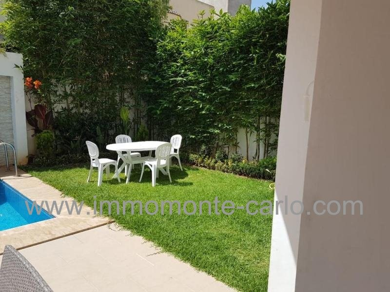 Villa à louer Rabat Hay Riad