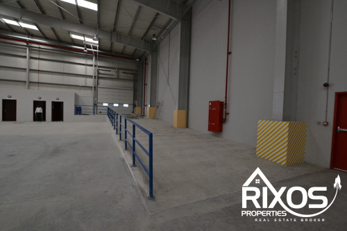 A HUGE BRAND NEW COMMERCIAL WAREHOUSE IN ALQUOZ-2 LOGISTIC PARK WITH TOILET AND PANTRY ATTACHED
