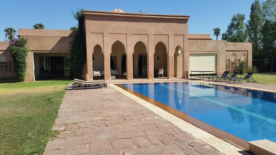 Villa à vendre Marrakech Sidi Abdellah Ghiat
