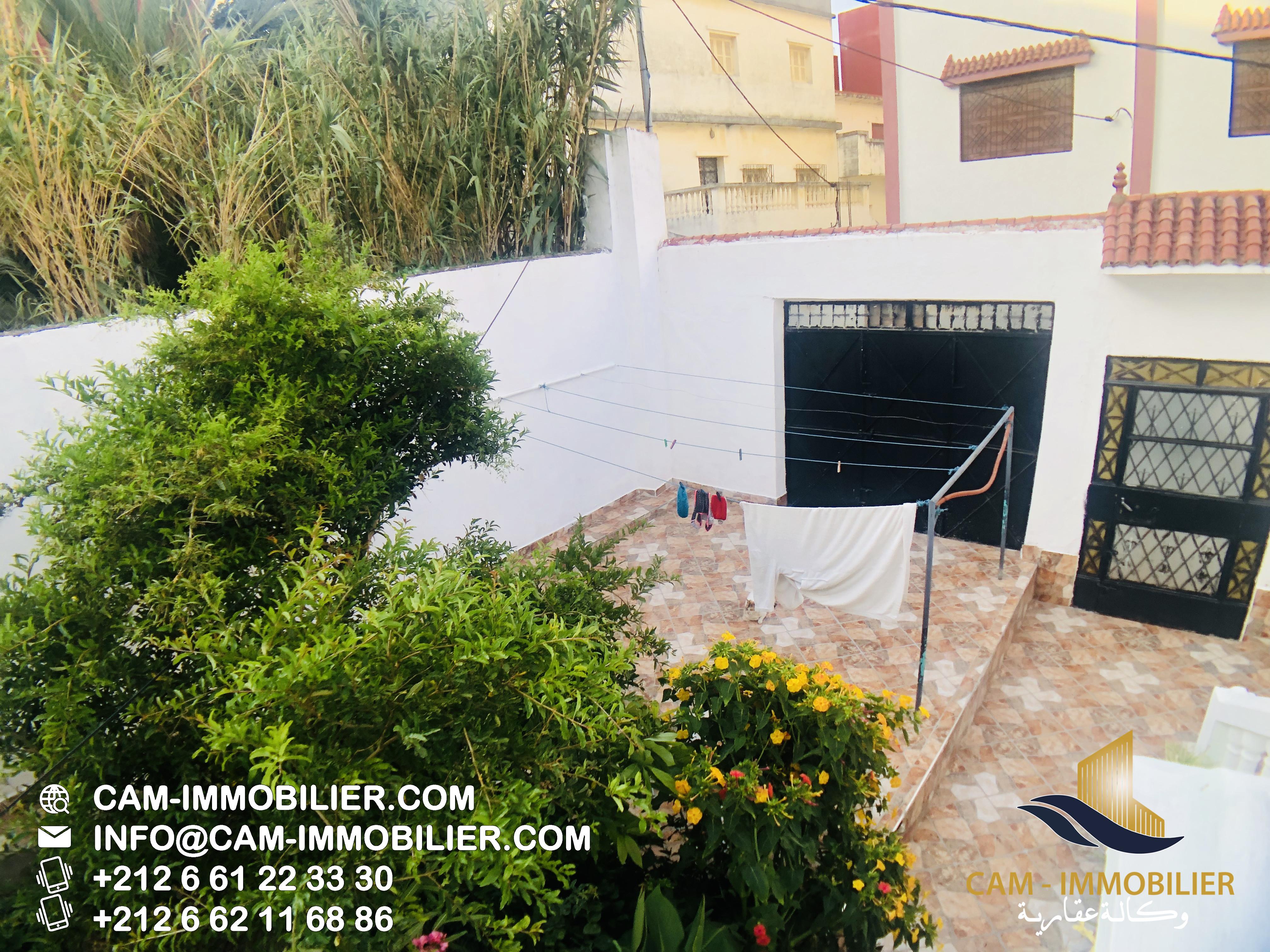 Maison à vendre Tanger Centre ville