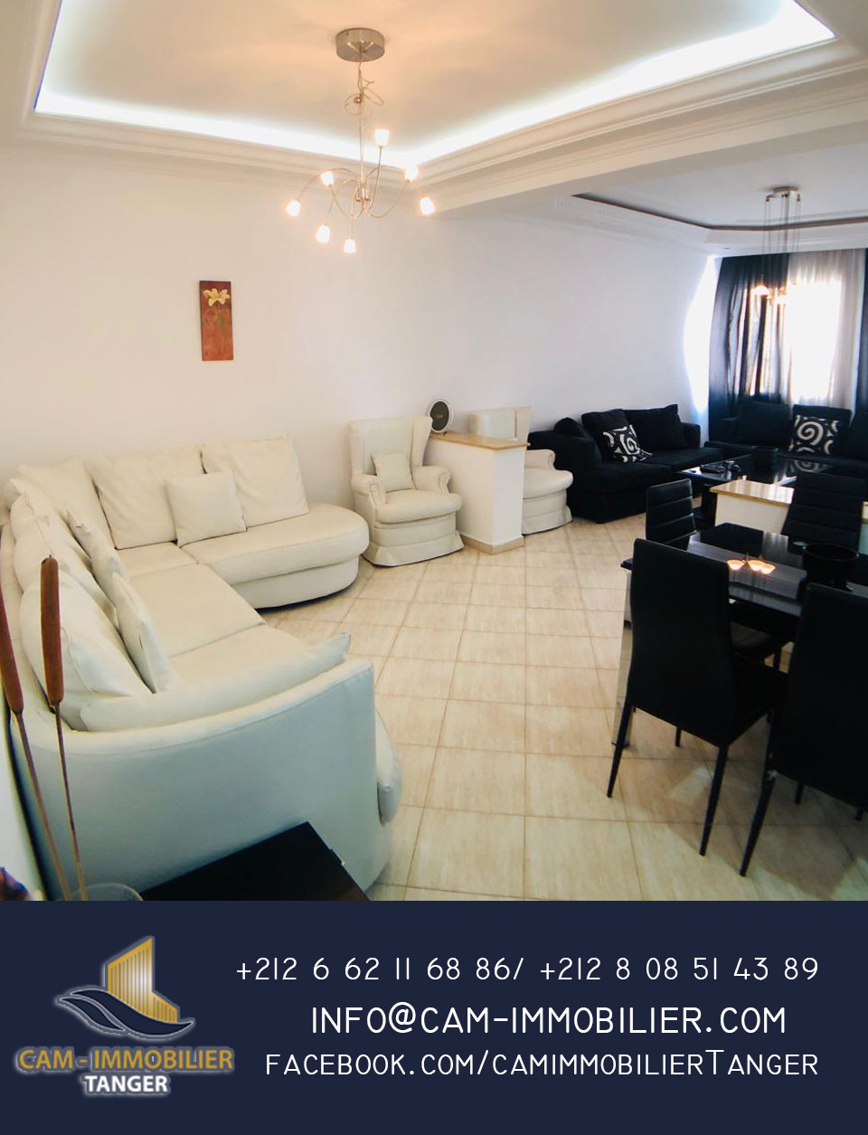 Appartement à louer Tanger Moulay Youssef