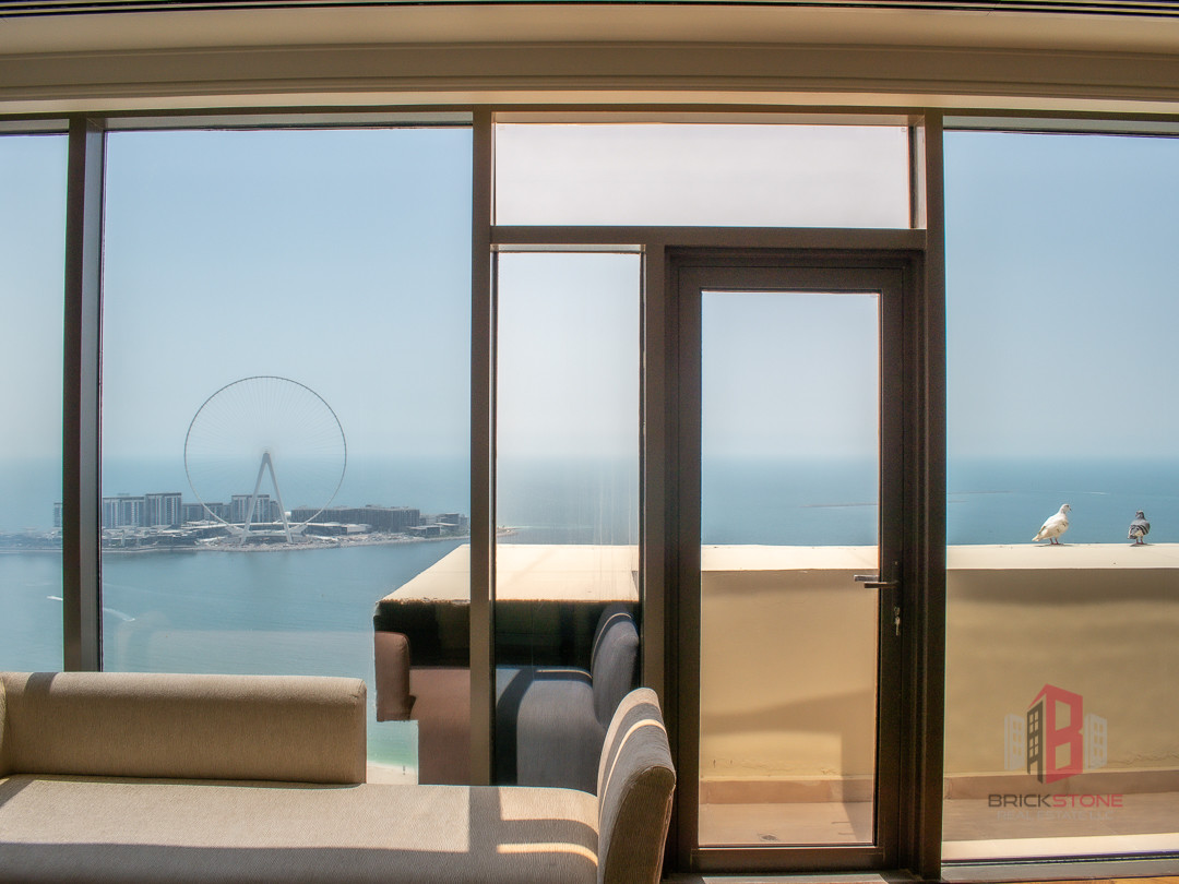 Chiller Free |Spacious Penthouse | Full Sea View