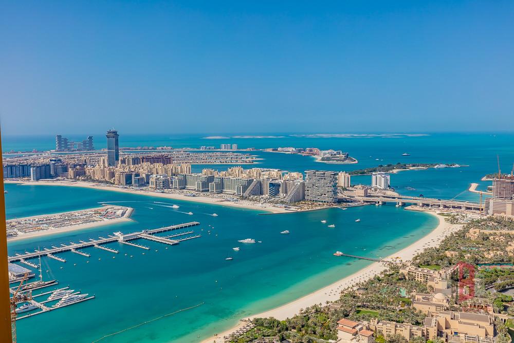 Amazing Sea and Palm View IHigh Floor IUnfurnished
