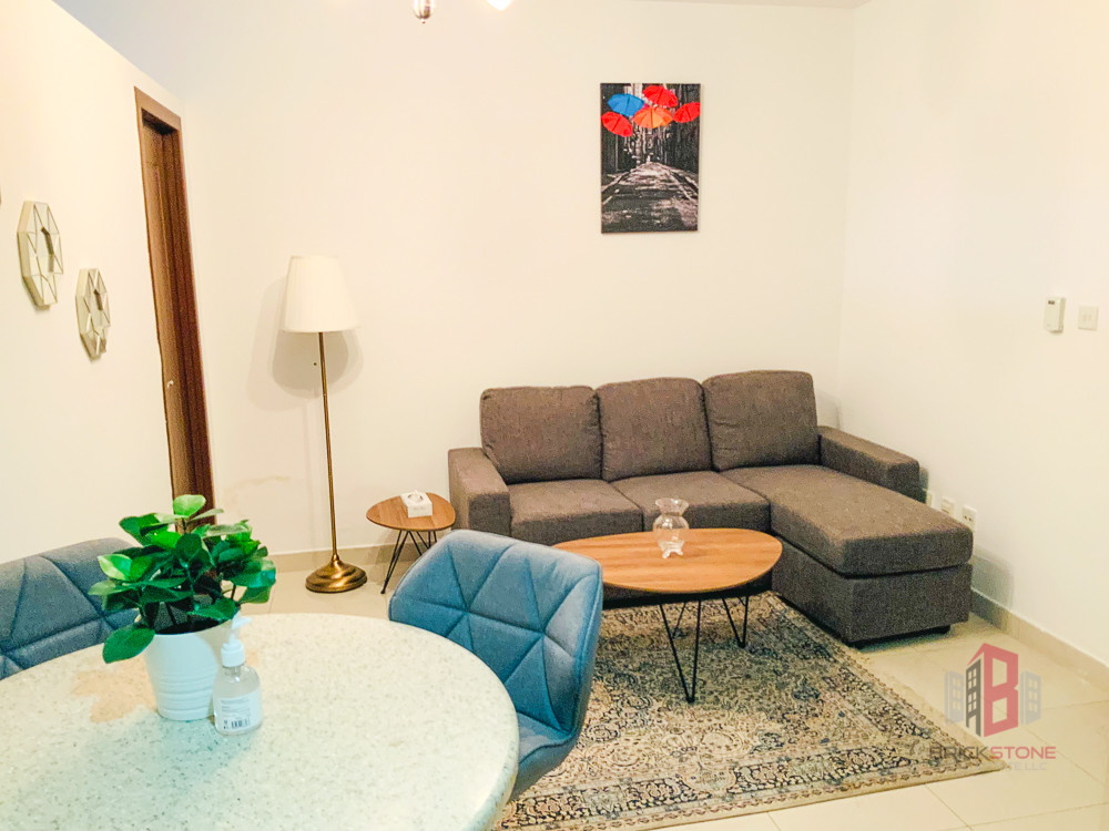 Fully Furnished 1 BHK | Great Lighting | Vacant