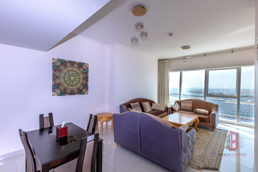 Full Sea View | Fully Furnished 2BR on High Floor
