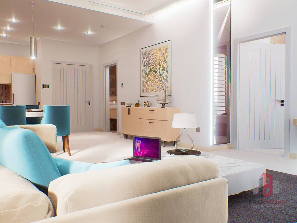 Luxury 2BR | Fully Furnished | 1% Every month