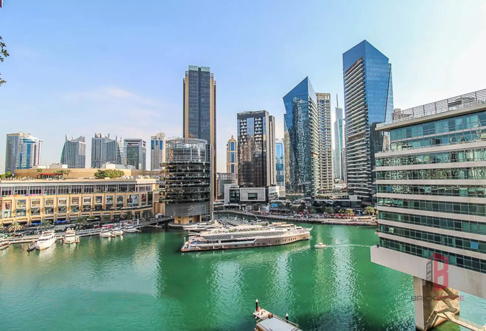 Magnificent 1BR | Full Marina View | Chiller free