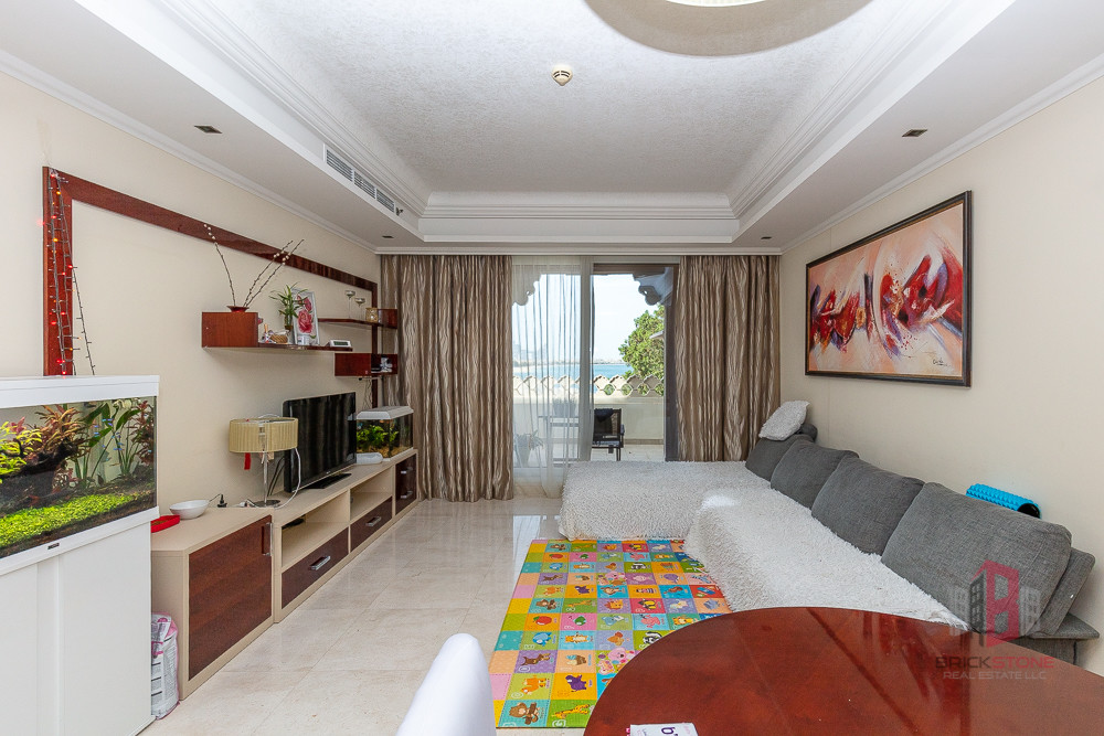 Stunning Sea and Palm View | Furnished 2BR