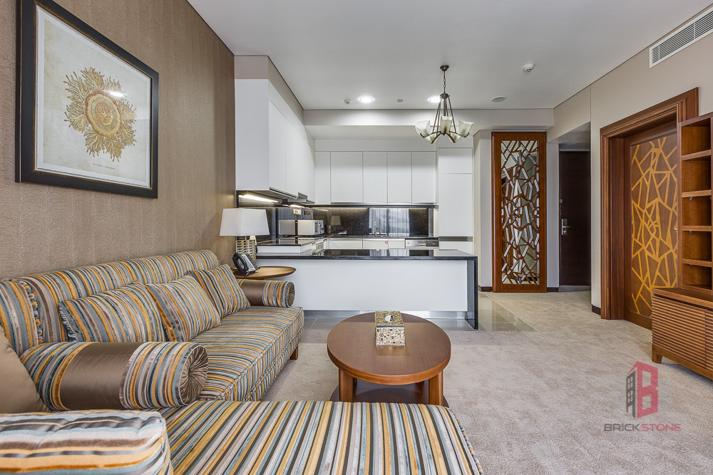 Furnished 1 Bedroom with Marina View | Vacant