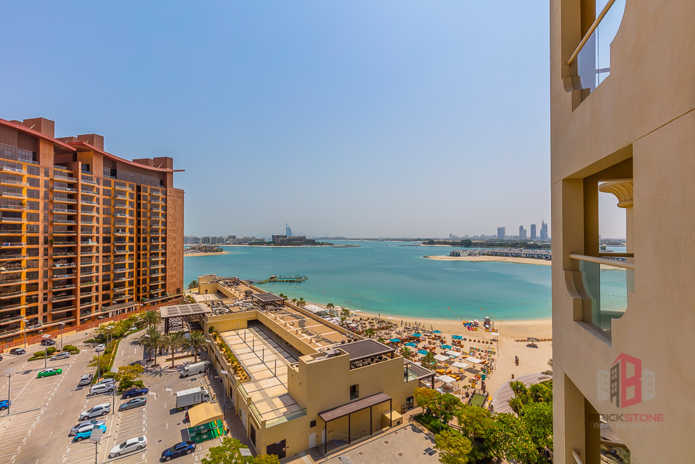 Furnished 2BR Partial Sea View | Beach Access