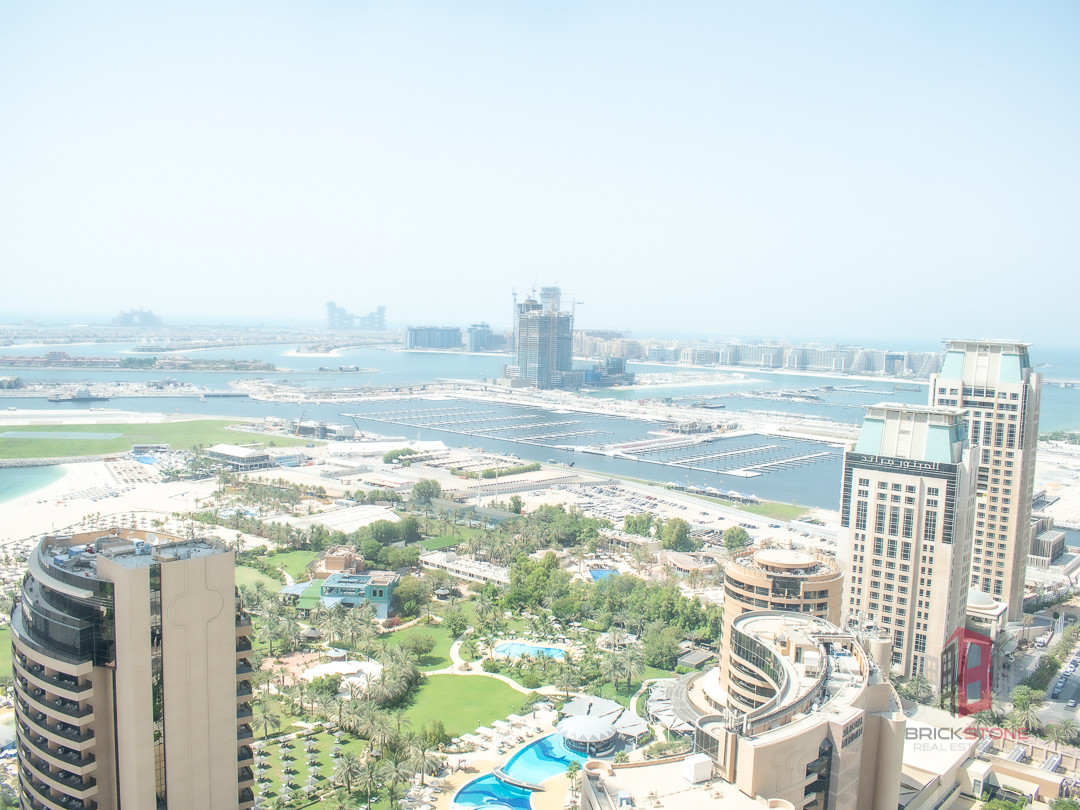 CHILLER FREE | Furnished | Palm and Marina View